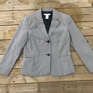 Requirements Women Blazer Black/white Hounds tooth